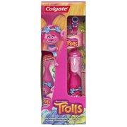 Colgate Kids Battery Powered Toothbrush, Toothpaste Pack - Trolls