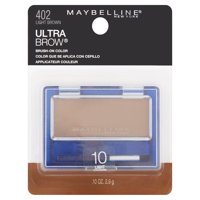 Maybelline New York Ultra Brow Brush-On Color, Light Brown
