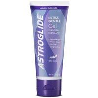 (2 pack) Astroglide Ultra Gentle Personal Water Based Lubricant Gel - 3 oz