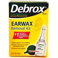 Debrox Earwax Removal Aid Kit 0.5 oz (Pack of 2)