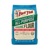 (2 Pack) Bob's Red Mill All Purpose Flour, Unbleached White, 48 Oz