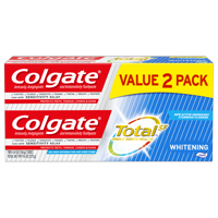 Colgate Total Whitening Toothpaste, 4.8 oz. 2-pack
