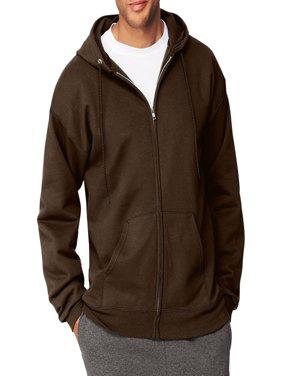 Men's Ultimate Cotton Heavyweight Fleece Full Zip Hood