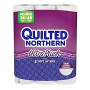 Quilted Northern Ultra Plush Toilet Paper, 24 Double Rolls