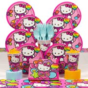 a3b1eeffad7e Hello Kitty Rainbow Deluxe Kit (Serves 8) - Party Supplies