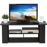 "Furinno JAYA Modern TV Stand for TV Up To 50"", Espresso"