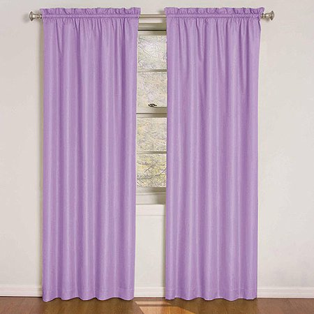 Eclipse Kids Quinn Energy-Efficient Curtain Panel](Pink Curtain)