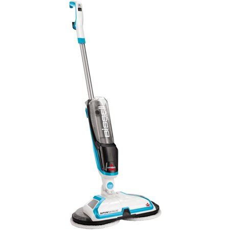 BISSELL Spinwave Hard Floor Powered Mop and Clean and Polish, (Best Commercial Steam Cleaning Machines)