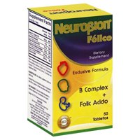 Neurobion Folico, 50 Tablets Vitamin B complex with Folic Acid Especially Formulated for Women