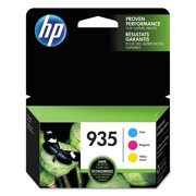 HP 935 Cyan, Magenta & Yellow Original Ink Cartridge, 3 pack (N9H65FN)