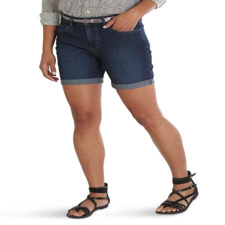 Women's Belted Cuff Short
