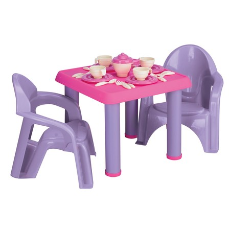 American Plastic Toys - Tea Party Set, 28-Pieces ()