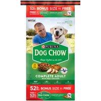Dog Chow Complete Adult Bonus Size Dry Dog Food, 52 Lb.