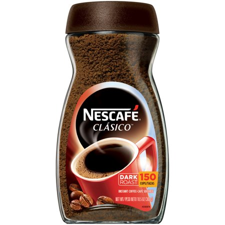 (2 Pack) NESCAFE CLASICO Dark Roast Instant Coffee 10.5 oz.