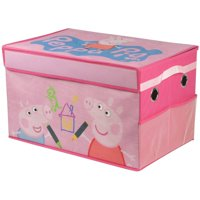 Peppa Pig Collapsible Toy Storage Trunk