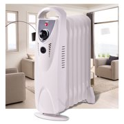 c8fb550bf58 Costway Portable 700W Electric Oil Filled Radiator Heater Thermostat Room  Radiant Heat