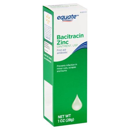 Equate Bacitracin Zinc USP Ointment, 1 oz