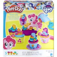 Play-Doh My Little Pony Pinkie Pie Cupcake Party Set with 5 Cans of Dough