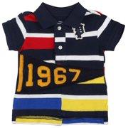 1fd529005 Polo Ralph Lauren Infant Boys  (3M-24M)1967 Striped Shirt-French