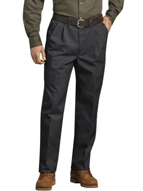 Big Men's Pleated Front Comfort-Waist Work Pant
