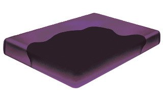 CALIFORNIA KING Free Flow Hardside Waterbed Mattress