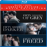 Fifty Shades: 3-Movie Collection (Unrated Edition) (Blu-ray + Digital)