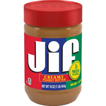 Jif Creamy Peanut Butter, 16 - Good Peanut Butter