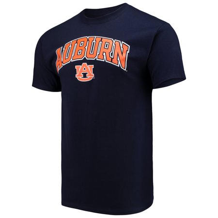 Men's Russell Navy Auburn Tigers Core Print T-Shirt