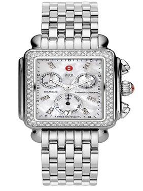 Michele Swiss Wheeze Diamond Watch MWW06P000099