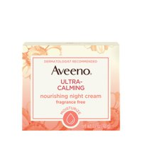 Aveeno Ultra-Calming Nourishing Night Cream for Sensitive Skin, 1.7 oz