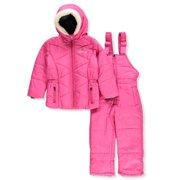 dda70ace8 Weatherproof Girls' 2-Piece Snowsuit