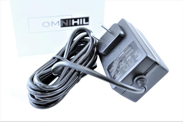 OMNIHIL AC/DC Adapter for Neewer 1-Channel 48V Phantom Power Supply Replacement Power