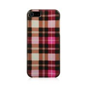 Insten Plaid Hard Snap On Back Protective Case Cover For Apple iPhone 5 / 5S /