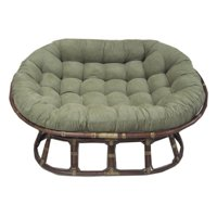 Blazing Needles 78 x 58 in. Oversize Double Papasan Micro Suede Cushion