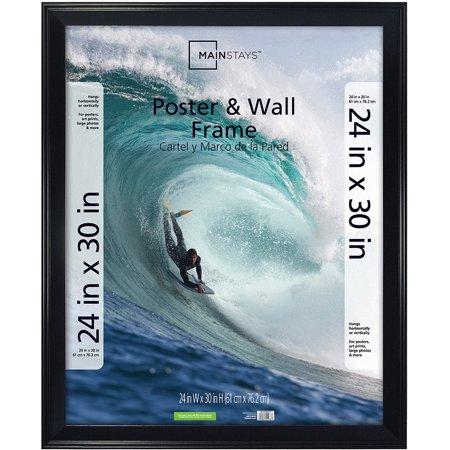 Mainstays 24 X 30 Casual Black Poster Frame Walmartcom