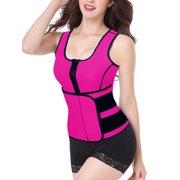 df20f282dda LELINTA Waist Trainer Corset for Weight Loss Neoprene Waist Trimmer Sauna  Sweat Slimmer Vest Shapewear Slimming