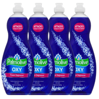 (4 Pack) Palmolive Ultra Dishwashing Liquid Dish Soap, Oxy Power Degreaser - 20 fluid ounce