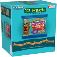 (4 Pack) Keebler Scooby Doo! Baked Graham Cracker Sticks - Cinnamon, 1 Ounce Packages, 12 Count
