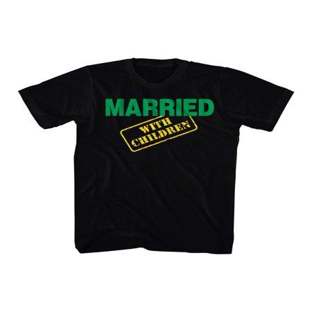 Married With Children MWC Al Peg Kelly Bundy TV Sitcom Logo Adult T-Shirt - Peg Bundy Halloween