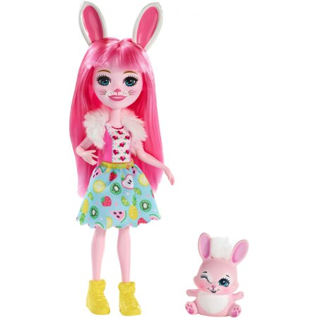 Enchantimals Bree Bunny Doll with Twist Bunny