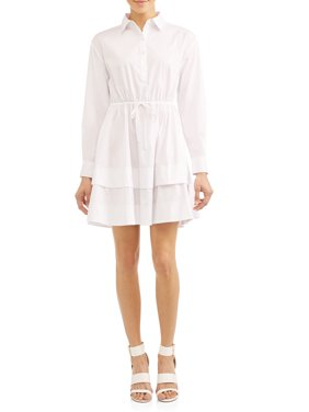 Gemma Belted Shirt Dress Women's