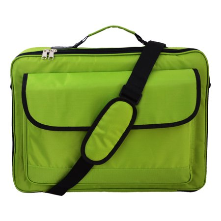 "16"" 16.4"" 15.6"" 17.3"" 17"" 18"" 18.4"" Inch Green Laptop Bag Notebook Case carrying briefcase case"