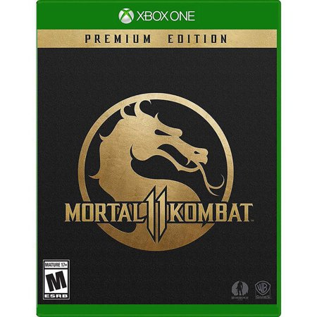 Mortal Kombat 11 Premium Edition, Warner Bros., Xbox One, 883929673742 for $<!---->