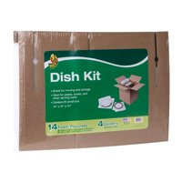 Duck Dish Moving Kit, Includes 14 Foam Pouches and Dividers (Box Not Included)