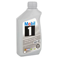 Mobil 1 5W-20 Full Synthetic Motor Oil, 1 qt.