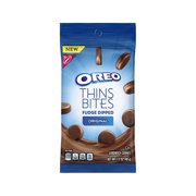 OREO Thins Bites Fudge Dipped Original Creme, 1.7 oz
