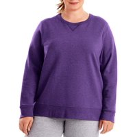 Women's Plus-Size Fleece Sweatshirt