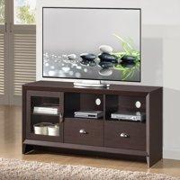 "Techni Mobili 59"" Daytona Modern TV Stand for TVs up to 70"" with Storage, Wenge (RTA-8807-WN)"