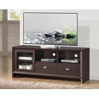 "Techni Mobili Daytona Modern TV Stand with Storage for TVs Up To 65"", Wenge (RTA-8807-WN)"