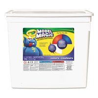 Crayola Model Magic, Primary Colors, Modeling Clay for Kids, 2 lb Bucket
